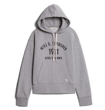 Merz b. Schwanen 1911 Good Training Hoodie in grau melange