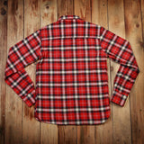 Pike Brothers 1937 Roamer Shirt Flannel Red