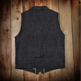 Pike Brothers 1908 Miner Vest Hemp Denim