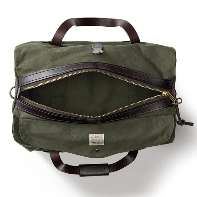 Filson Small Rugged Twill Duffle Bag Otter Green