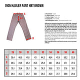 Pike Brothers 1905 Hauler Pant HBT Brown