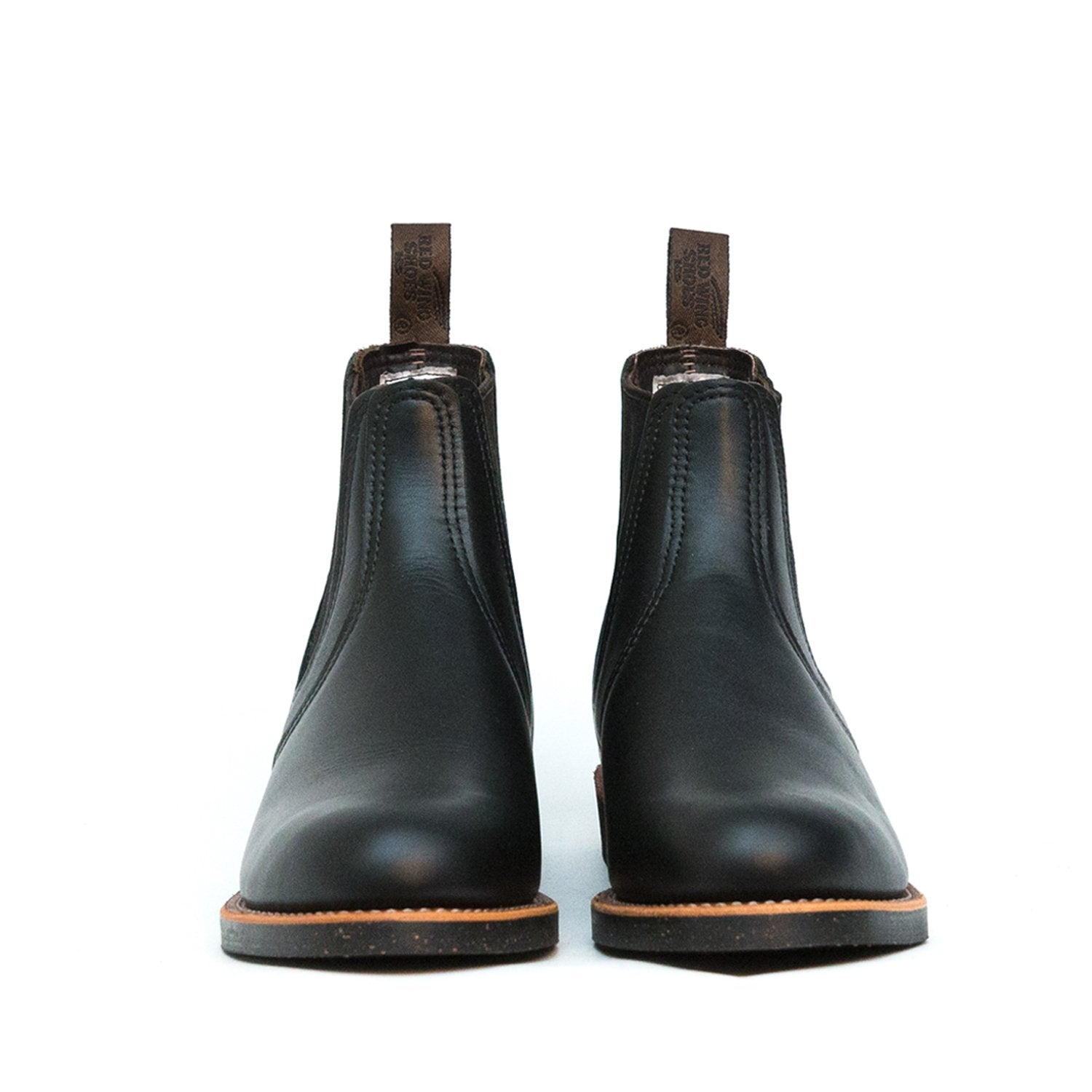 Red Wing Chelsea Rancher 8200 Black Spitfire Leather