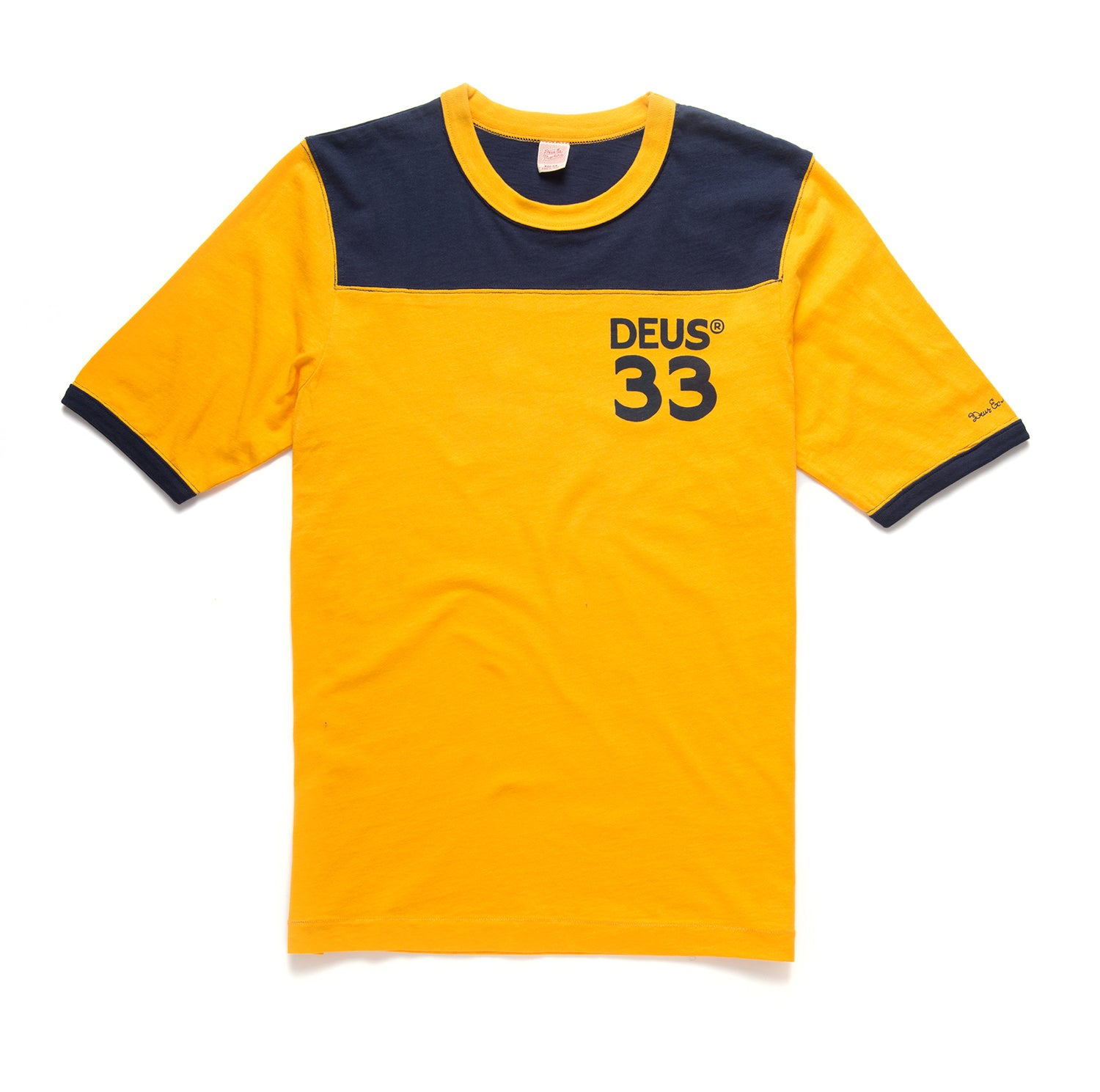 Deus Harold Sports T-Shirt Golden Navy