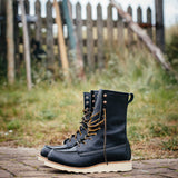 Red Wing Classic 8-inch Moc Toe 3424 Black Boundary Leather Damenschuh