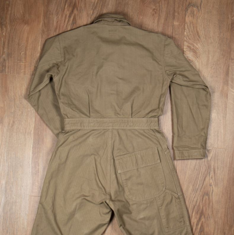 Pike Brothers 1938 Mechanic Coverall olive