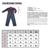 Pike Brothers 1938 Mechanic Coverall off white