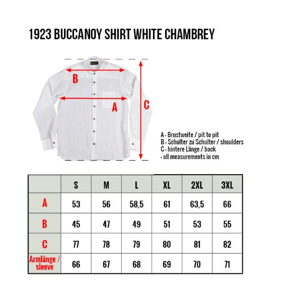 Pike Brothers 1923 Buccanoy Shirt White Chambray
