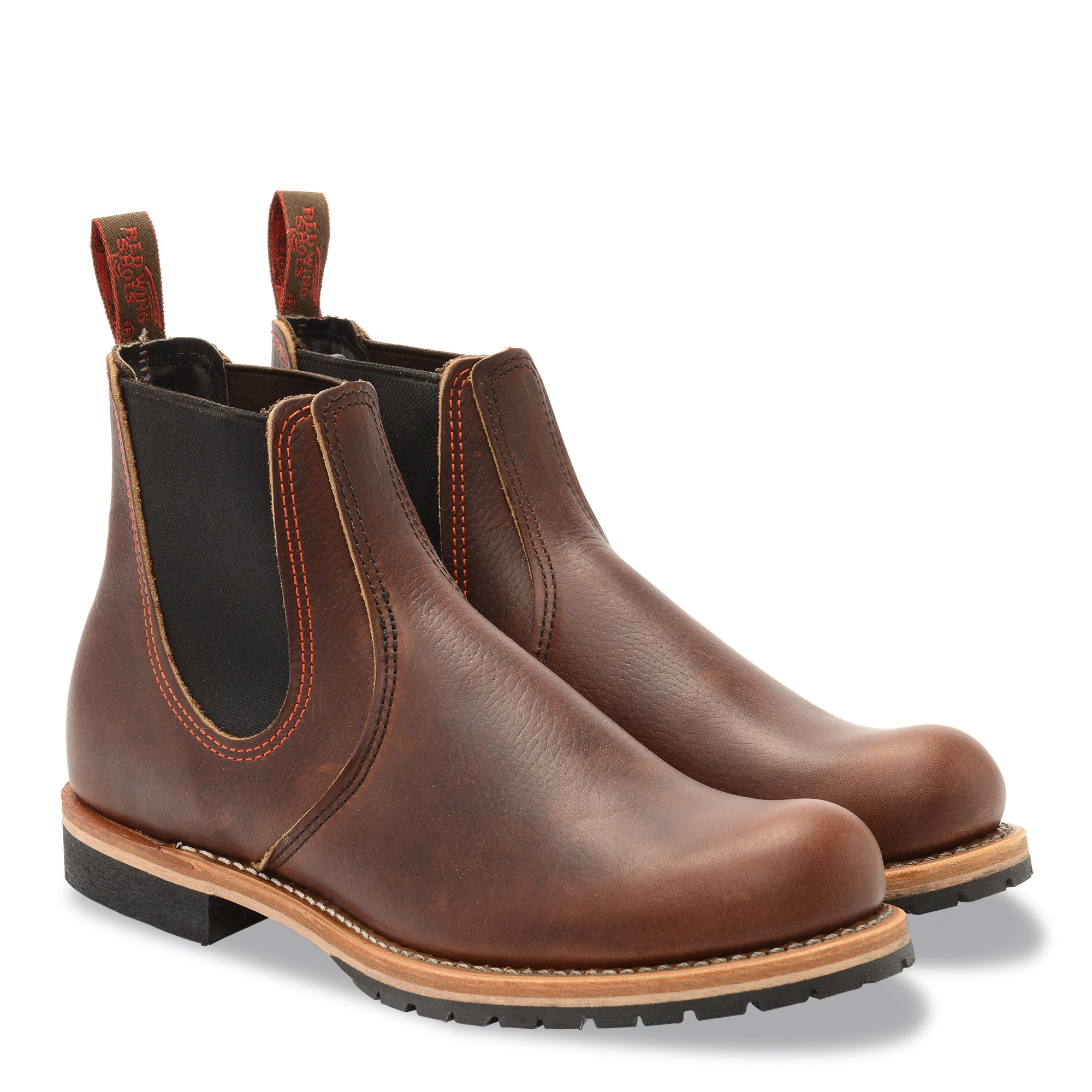 Red Wing Chelsea Rancher 2917 Briar Oil Slick Leather