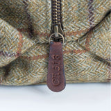 Captain Fawcett's Tweed Wash Bag