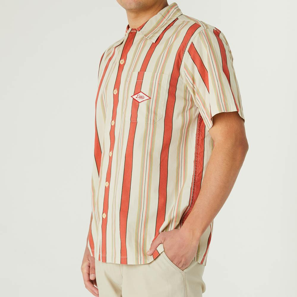 Deus Ex Machina Oscar Sunset Stripe Shirt