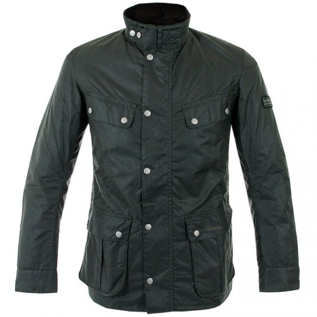 Barbour International™ Duke Wachsjacke dunkelgrün