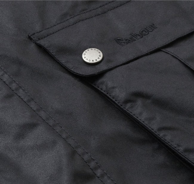 Barbour International™ Duke Wachsjacke schwarz