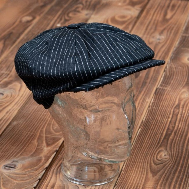 Pike Brothers 1928 Newsboy Cap Black Wabash