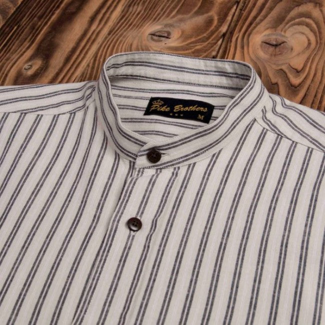 Pike Brothers 1923 Buccanoy Shirt Iwaki Grey