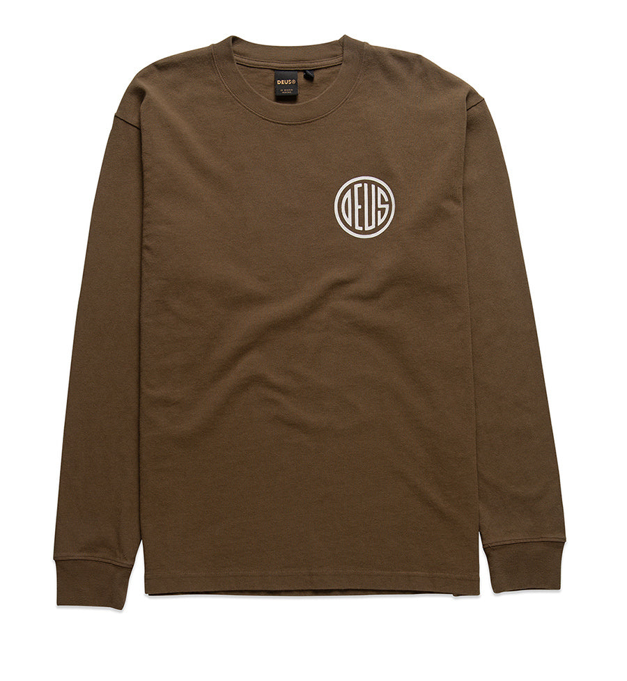 Deus Ex Machina Pills Longsleeve Shirt in Dark Olive