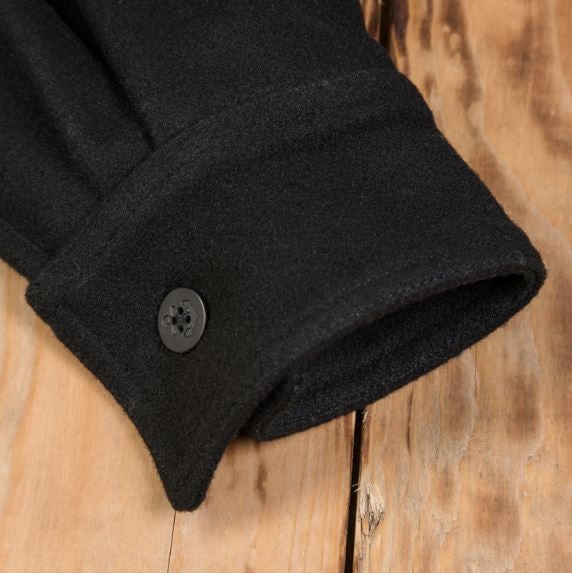Pike Brothers 1943 CPO Shirt Black Wool