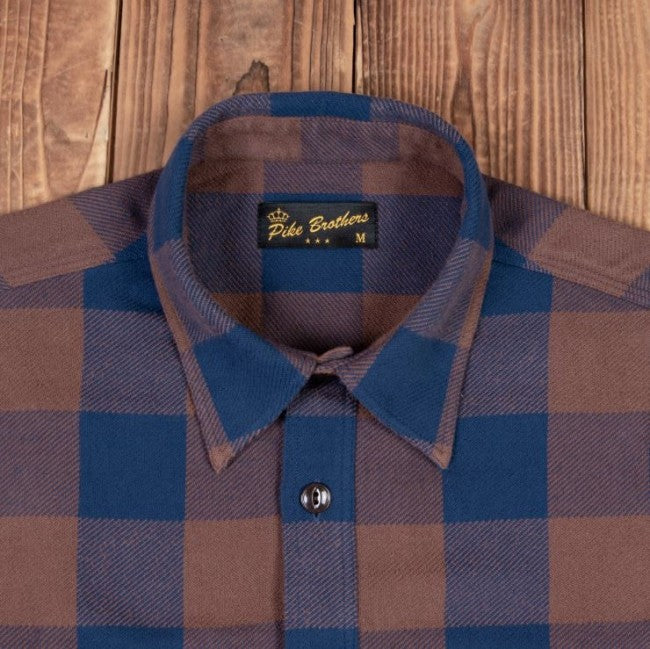 Pike Brothers 1943 CPO Shirt Ontario brown