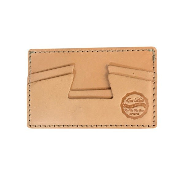 Eat Dust Credit Card Holder Natural