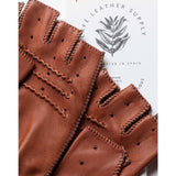 Triton Fingerless Driving Gloves roasted