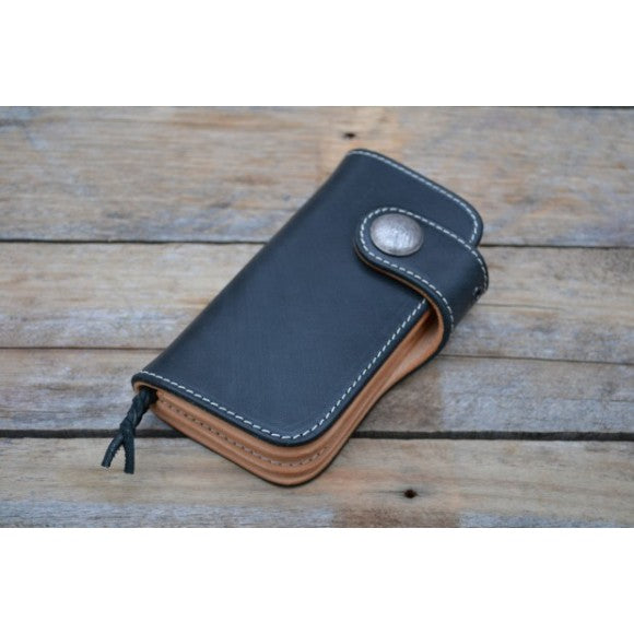Timeless Medium Biker Wallet schwarz