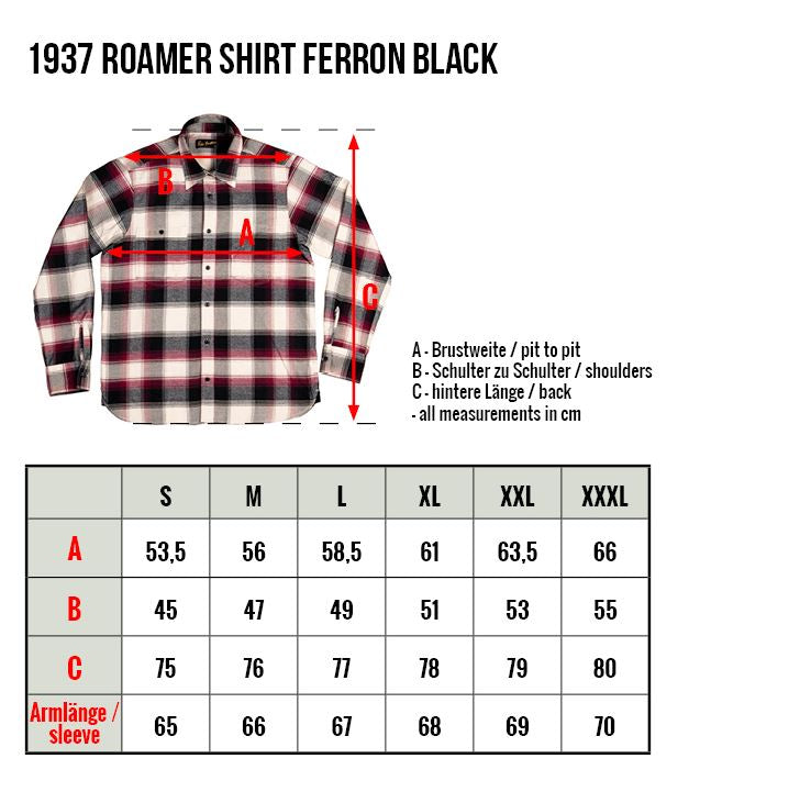 Pike Brothers 1937 Roamer Shirt Ferron black