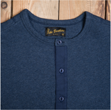 Pike Brothers 1954 Utility Shirt Short Sleeve indigo melange