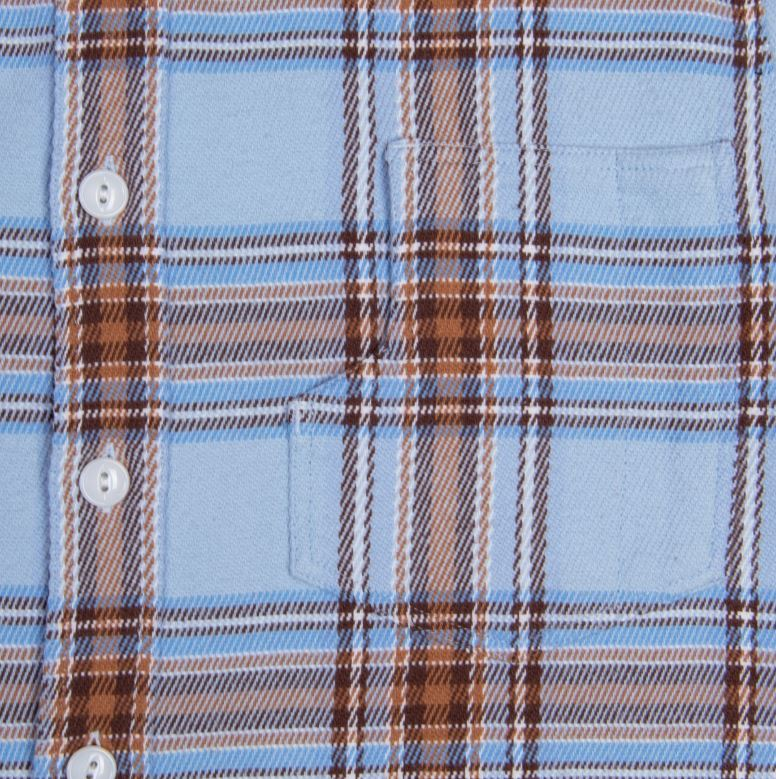 Pike Brothers 1937 Roamer Shirt Orono blue