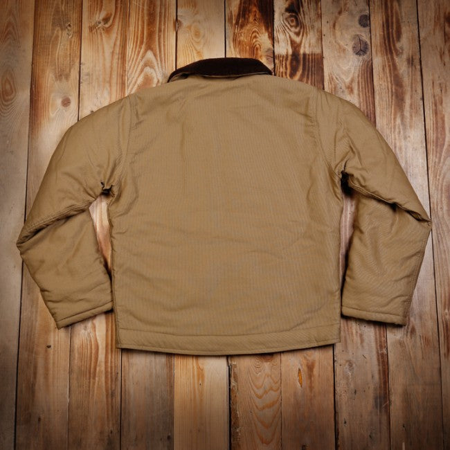 Pike Brothers 1944 N1 Deck Jacket Khaki Brown