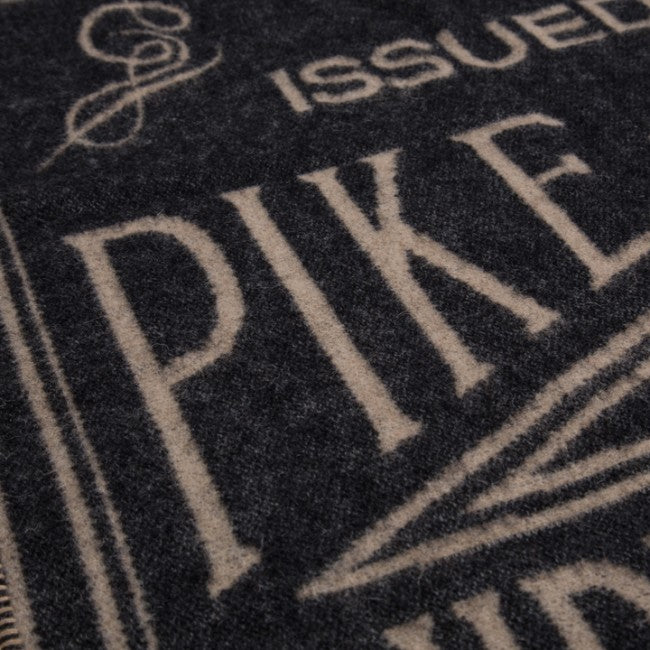 Pike Brothers 1969 Logo Decke Faded Black