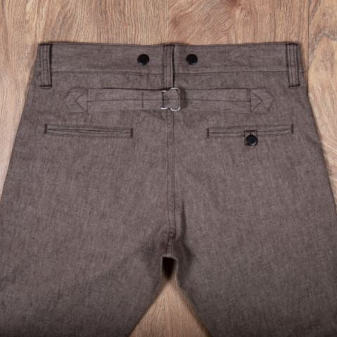 Pike Brothers 1923 Buccanoy Pant Seattle Brown