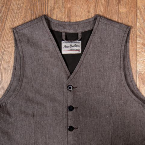 Pike Brothers 1905 Hauler Vest Seattle Brown