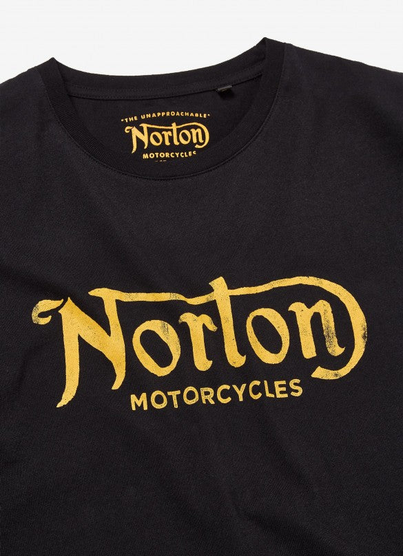 Norton Surtees T-Shirt ebonised black
