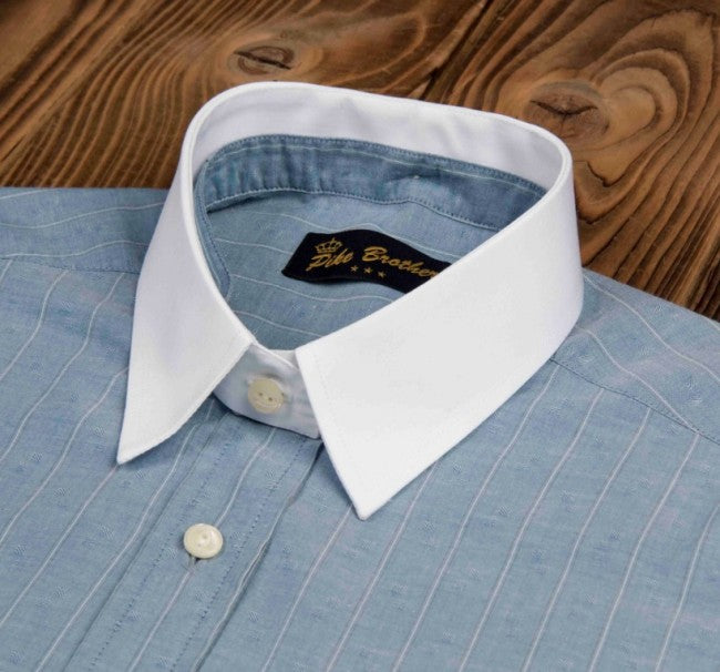 Pike Brothers 1923 Buccanoy Collar Starched White