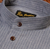 Pike Brothers 1923 Buccanoy Shirt Grey Striped