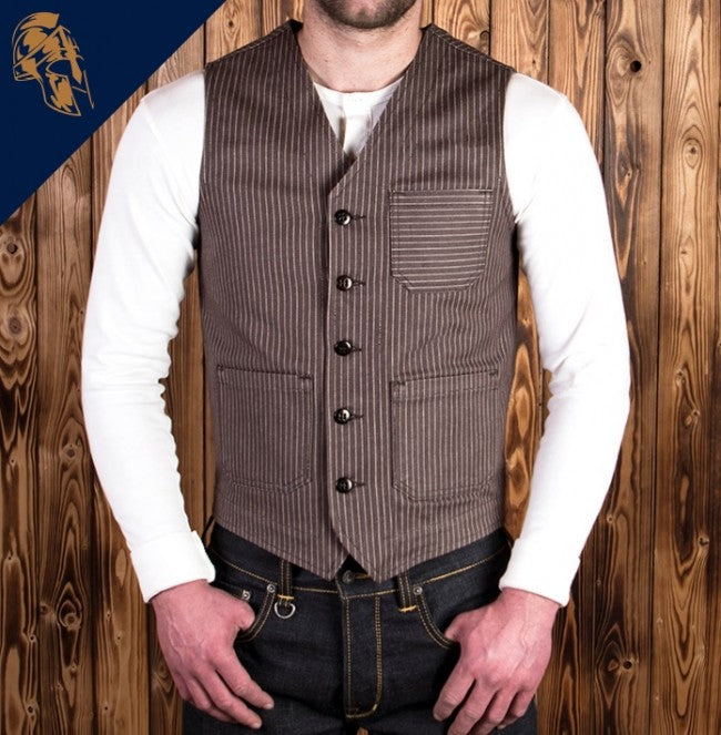 Pike Brothers 1937 Roamer Vest Brown Wabash