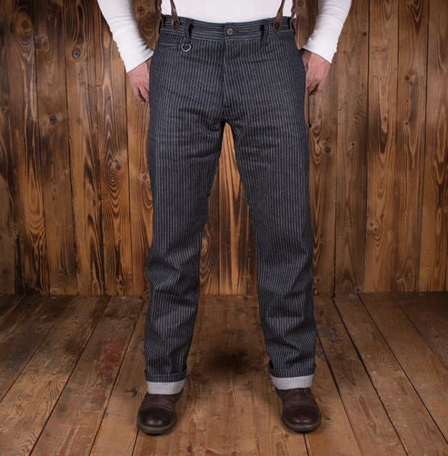 Pike Brothers 1942 Hunting Pant Blue Wabash 13oz