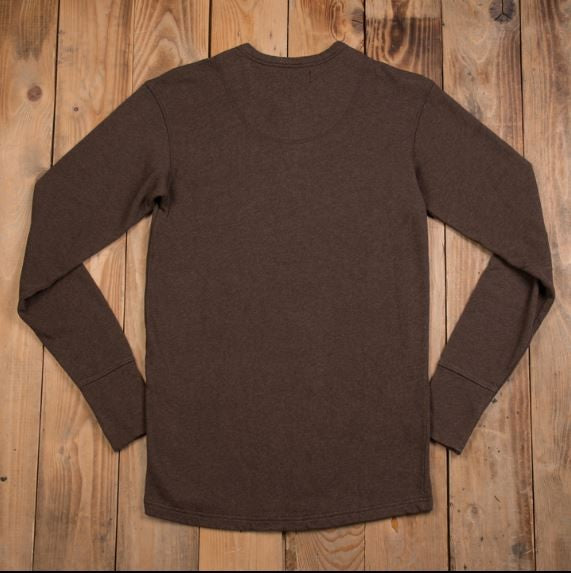 Pike Brothers 1954 Utility Shirt Long Sleeve Brown