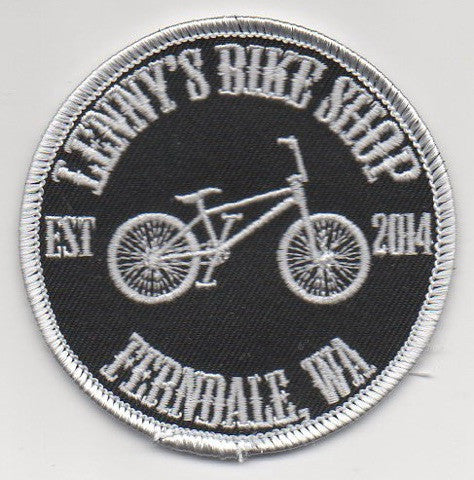 Lenny's Bike Shop Patch