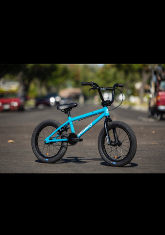 "Sunday 2020 Blueprint 16"" Surf Blue - Lenny's Bike Shop"