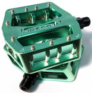 Deco PC Pedals with Metal Pins - Lenny's Bike Shop
