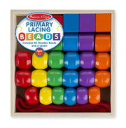 Melissa & Doug Primary Lacing Beads