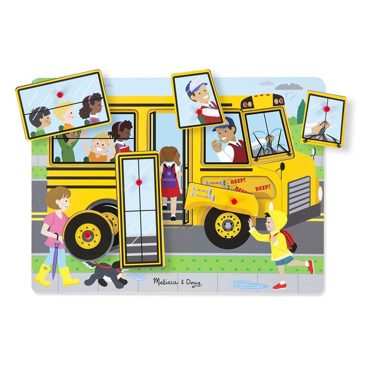 Melissa & Doug Sound Puzzle The Weels on the Bus
