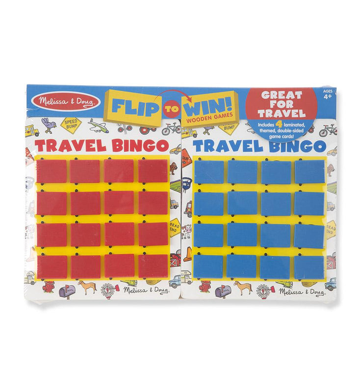Melissa & Doug Flip to Win Travel Bingo