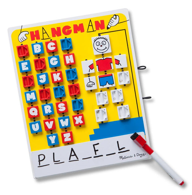 Melissa & Doug Flip-to-Win Travel Game Hangman