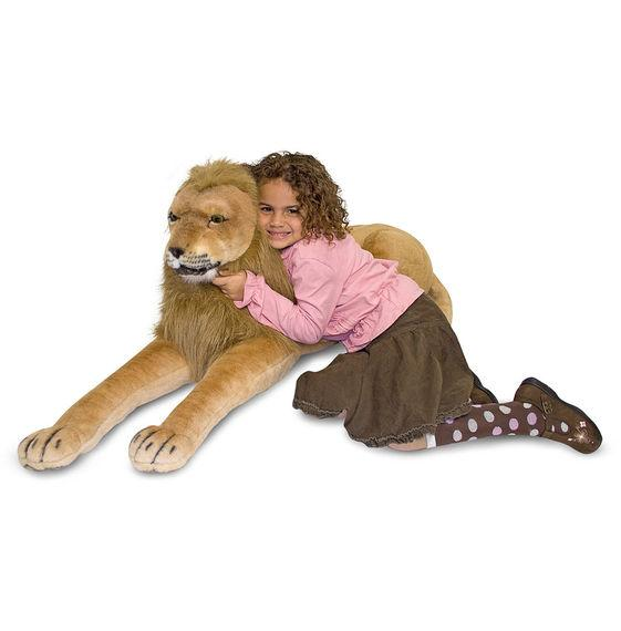 Melissa & Doug Giant Stuffed Animal Lion