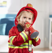 Melissa & Doug Role Playing Costume Set Fire Chief