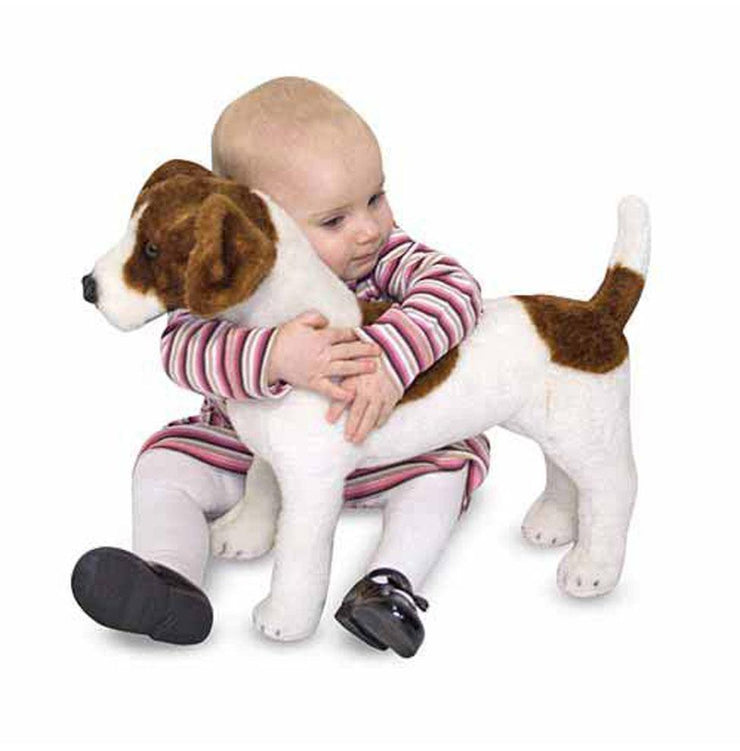 Melissa & Doug Giant Stuffed Animal Jack Russell Terrier