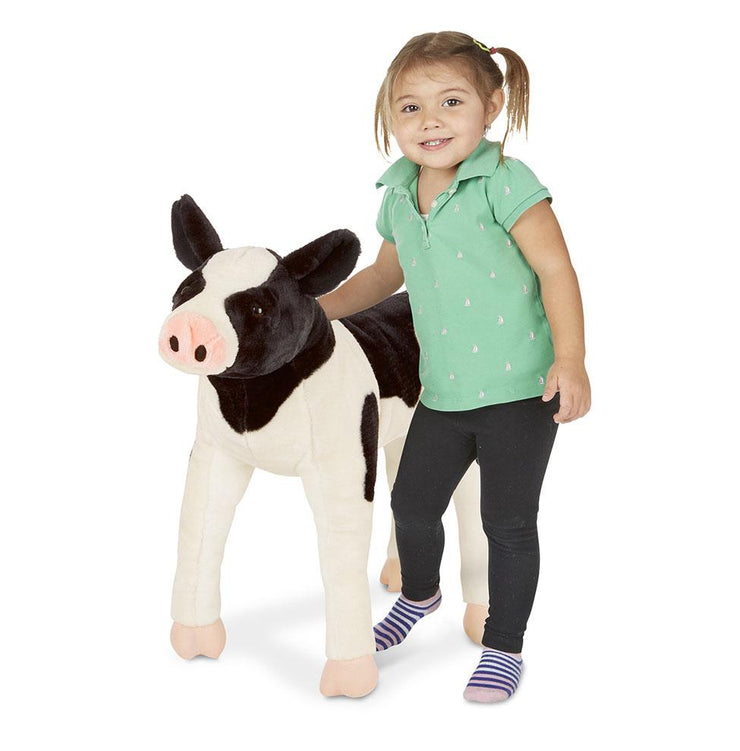 Melissa & Doug Calf Lifelike Stuffed Animal