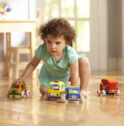 Melissa & Doug Pull-Back Town Vehicles