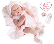 "La Newborn 15"" Baby Girl Doll Gift Set"